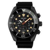 Seiko SSC761J1 zegarek czarny sportowy Prospex pasek