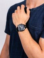 Zegarek męski sportowy Casio EDIFICE Premium ECB-800DC-1AEF BLUETOOTH SYNC LCD szkło mineralne - duże 5