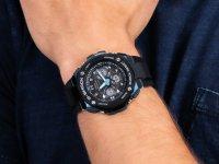 Zegarek męski sportowy Casio G-SHOCK G-STEEL GST-W300G-1A2ER G-STEEL MID SIZE szkło mineralne - duże 6
