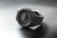 Zegarek męski sportowy Casio G-Shock GA-2100-1A1ER szkło mineralne - duże 10