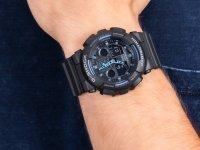 G-Shock GA-100-1A2ER Supernova G-SHOCK Original sportowy zegarek czarny