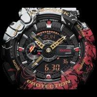 Zegarek męski sportowy Casio G-SHOCK Specials GA-110JOP-1A4ER G-SHOCK x ONE PIECE LIMITED szkło mineralne - duże 7