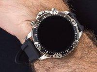Fossil Smartwatch FTW4041 GEN 5 SMARTWATCH GARRETT HR BLACK SILICONE zegarek sportowy Fossil Q