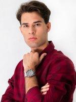 Zegarek męski sportowy Lorus Sportowe RM333FX9 szkło mineralne - duże 4