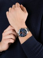 zegarek Lorus RM337FX9 srebrny Sportowe