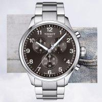 Tissot T116.617.11.057.01 Chrono XL CHRONO XL zegarek męski sportowy szafirowe