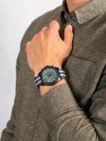 zegarek Traser TS-109048 P96 OdP Evolution Chrono Green męski z chronograf P96 Outdoor Pioneer
