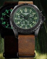 Traser TS-109049 zegarek czarny sportowy P96 Outdoor Pioneer pasek
