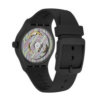 Swatch SUTB408 męski zegarek Originals Sistem 51 pasek