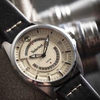 Timberland TBL.15519JS-07 zegarek srebrny klasyczny Lakeville pasek