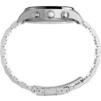 Timex TW2T70400 zegarek srebrny sportowy Waterbury bransoleta