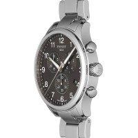 Tissot T116.617.11.057.01 zegarek srebrny sportowy Chrono XL bransoleta