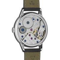Tissot T119.405.16.037.00 zegarek srebrny klasyczny Heritage pasek