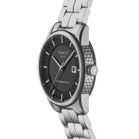 Tissot T086.407.11.201.02 LUXURY POWERMATIC 80 zegarek elegancki Luxury