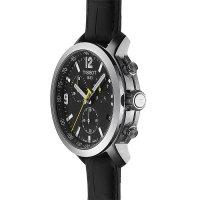 Tissot T055.417.16.057.00 zegarek srebrny klasyczny PRC 200 pasek