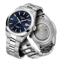 Tissot T127.407.11.041.00 męski zegarek Gentleman bransoleta