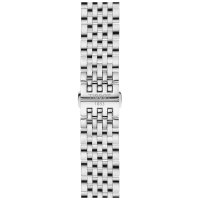 Tissot T063.610.11.037.00 zegarek srebrny elegancki Tradition bransoleta