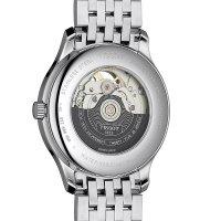 Tissot T063.907.11.058.00 zegarek srebrny elegancki Tradition bransoleta