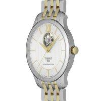 Tissot T063.907.22.038.00 TRADITION POWERMATIC 80 OPEN HEART zegarek elegancki Tradition