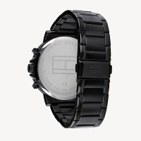 Tommy Hilfiger 1710383 zegarek czarny fashion/modowy Męskie bransoleta