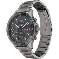 Tommy Hilfiger 1791719 zegarek szary fashion/modowy Męskie bransoleta