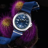Traser TS-108216 P59 Essential M Blue P59 Classic klasyczny zegarek srebrny