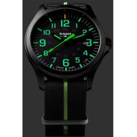 Traser TS-107426 zegarek czarny klasyczny P67 Officer Pro pasek