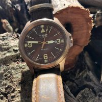 zegarek Traser TS-108073 brązowy P67 Officer Pro