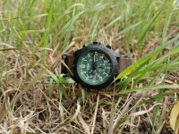 Traser TS-109049 P96 OdP Evolution Chrono Petrol P96 Outdoor Pioneer sportowy zegarek czarny