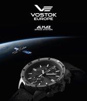Vostok Europe 6S11-320H264 Almaz Titan zegarek klasyczny Almaz