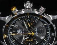 Vostok Europe 6S21-510A584 Anchar Anchar Chrono zegarek męski sportowy mineralne utwardzane