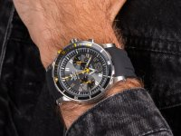 Zegarek męski Vostok Europe Anchar 6S21-510A584 srebrny - duże 6