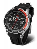 Vostok Europe NH35-510A587 zegarek srebrny klasyczny Anchar pasek