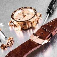zegarek Vostok Europe NH35A-575B281 różowe złoto Energia Rocket