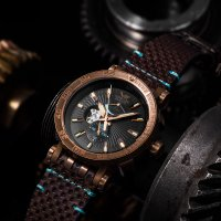 YN84-575O540 - zegarek męski - duże 7