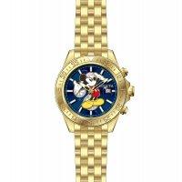 Zegarek męski z chronograf  Disney 27377 - duże 4