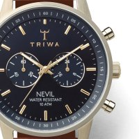 Zegarek męski z chronograf  Nevil NEST122-CL110217 - duże 4