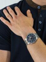 zegarek Adriatica A8308.5125CH Chronograph męski z chronograf Bransoleta