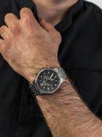 Zegarek męski z chronograf Adriatica Bransoleta A8308.5126CH - duże 5