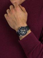 Zegarek męski z chronograf Adriatica Pasek A1076.5224CHSIL Aviation - duże 5