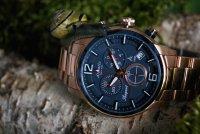 Atlantic 87466.44.55 zegarek różowe złoto elegancki Seasport bransoleta