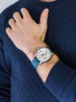 zegarek Bisset BSCF19DISX05BX męski z chronograf Sportowe