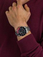 zegarek Bulova 98B344 męski z chronograf Męskie