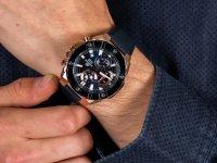 Zegarek męski z chronograf Casio Edifice EFR-569BL-2AVUEF - duże 6