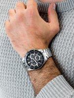 Zegarek męski z chronograf Casio EDIFICE Momentum EFR-552D-1AVUEF - duże 5