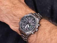 Citizen JY8020-52E Pilot Promaster Titan zegarek sportowy Radio Controlled