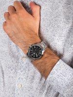 Zegarek męski z chronograf Fossil Grant FS4736IE GRANT - duże 5