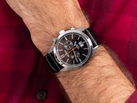 Zegarek męski z chronograf Grovana Pasek 1294.9537 - duże 6
