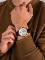 Zegarek męski z chronograf Guess Pasek W0380G2 - duże 5