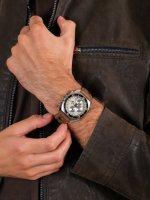 zegarek Jacques Lemans 1-2041D męski z chronograf Classic